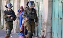 الاحتلال يعتقل 4 شبان في الخليل