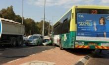 6 مصابين في حادث طرق في شارع 57 وسط البلاد
