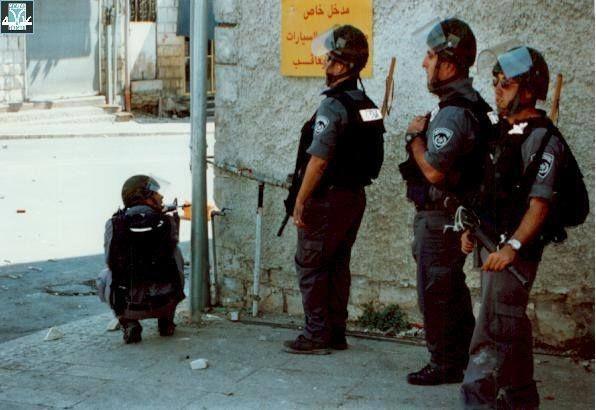 """الشرطة الإسرائيلية تستعدّ لقمع التظاهرات داخل الخط الأخضر (أرشيف """"عدالة"""")"""