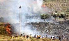 موسم الزيتون: مستوطنون بحماية جيش الاحتلال يحرقون الأراضي