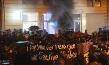 احتجاجات عنيفة في برلين عقب إخلاء الشرطة لبناية يشغلها اليساريون