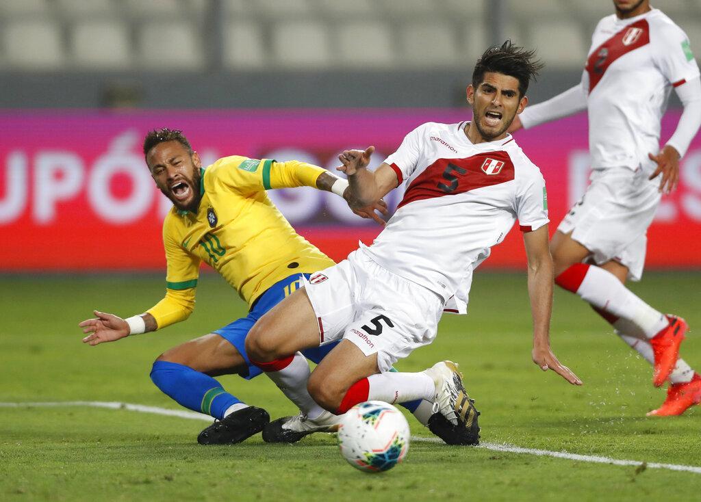 تصفيات كأس العالم: هاتريك نيمار يقود البرازيل للفوز