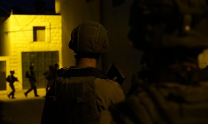 إصابة جنديين للاحتلال خلال اعتقالات بمخيم بلاطة