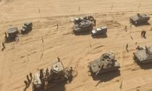 """""""غلاف غزة"""": الاحتلال يشق طرقا لتحسين الجهوزية لاجتياح القطاع"""