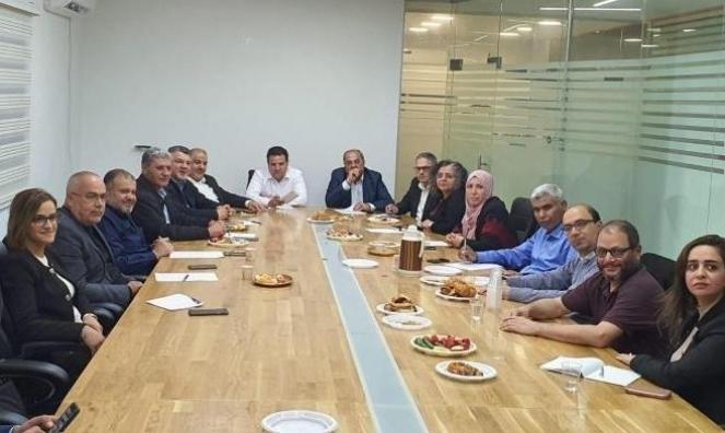"""القائمة المشتركة تصوت ضد """"اتفاقية أبراهام""""  بين إسرائيل والإمارات"""