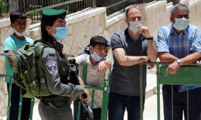 القدس المحتلّة: انخفاض الإصابات النشطة بكورونا إلى 598