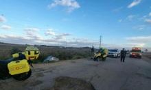 إصابة فتيين وشاب في حادثين شمالي ووسط البلاد