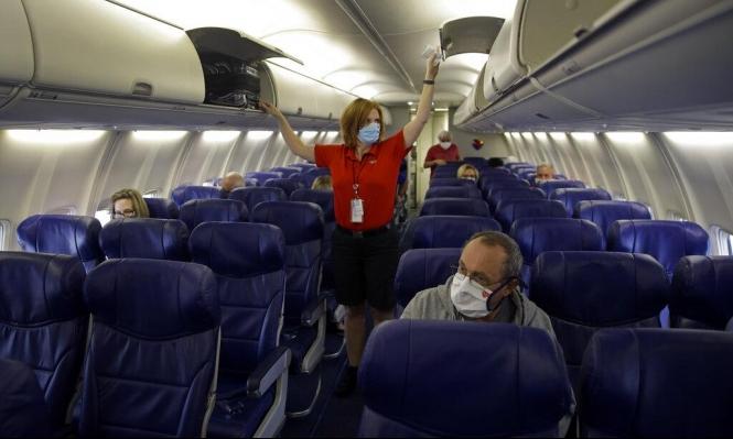 دراسة: احتمال انتقال فيروس في الطائرات يقارب الصفر