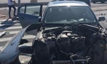 4 مصابين في حادث طرق قرب دير الأسد