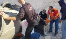 إصابة شخص في انقلاب سيارة بالناصرة