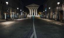 هدوء في شوارع باريس بعد فرض حظر تجول بسبب كورونا