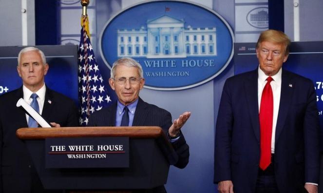 """ترامب يهاجم فاوتشي ويصفه بالـ""""غبي"""""""