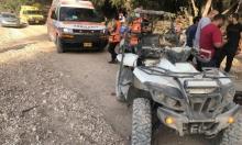 إصابة خطيرة لشاب بانقلاب دباب شمالي البلاد