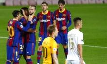 برشلونة يستهل دوري الأبطال بفوز ساحق