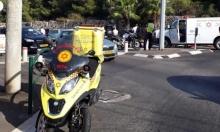 حيفا: إصابة حرجة لسائق دراجة نارية في حادث طرق