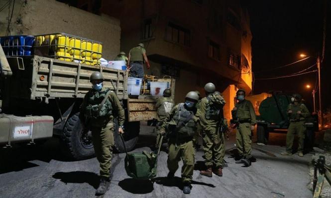 اعتقالات بالضفة والقدس والاحتلال يطارد العمال قرب جنين
