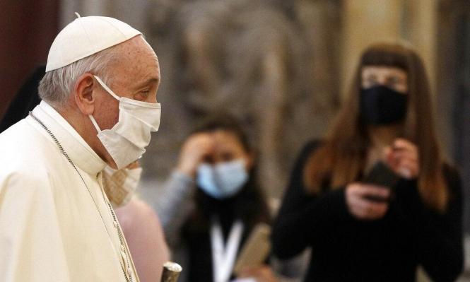 بابا الفاتيكان يدعو لسنّ قوانين تحمي المثليين
