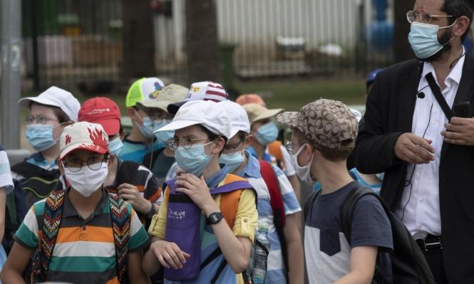 الصحة الإسرائيلية: انتشار كورونا بين الأولاد أعلى من البالغين