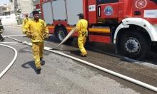 إنقاذ شخص من حريق داخل منـزل في طمرة
