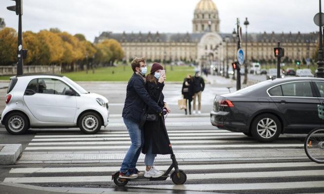 فرنسا تسجّلأعلى معدل يومي بإصابات كورونا