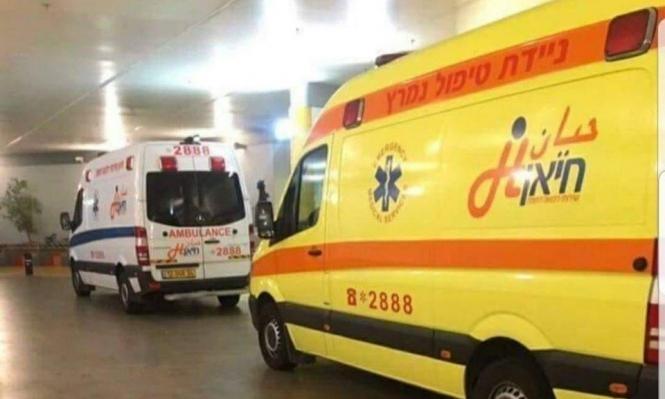 أبو سنان: إصابة حرجة لامرأة بجريمة طعن واعتقال زوجها