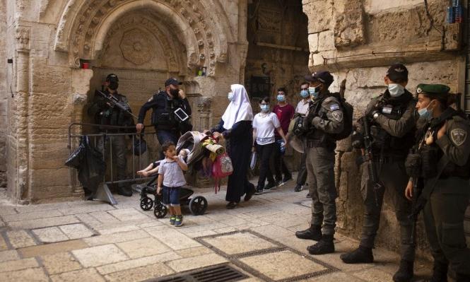 وفاة و30 إصابة بكورونا في القدس المحتلّة خلال يومين