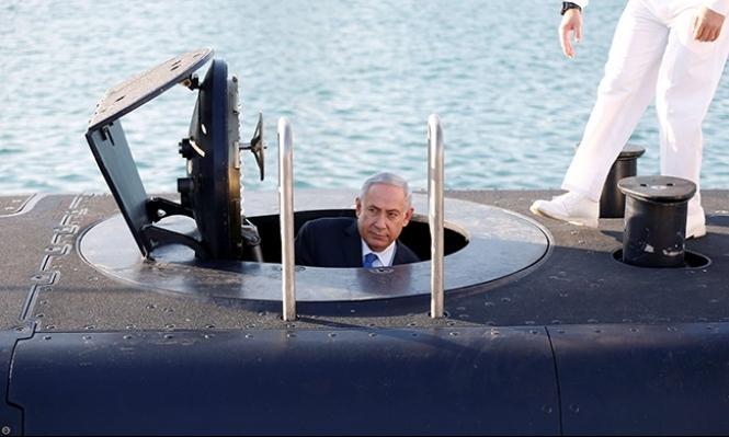 """قضية الغواصات: """"نتنياهو ناقش المنحة الألمانية مع يعالون"""""""