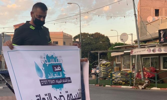 قلنسوة: الحراك الشبابي يفتح مسارا قضائيا ضد قرار البلدية التعاقد مع اتحاد مياه