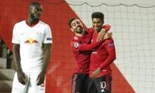 دوري الأبطال: مانشستر يونايتد يسحق لايبزيج بخماسية