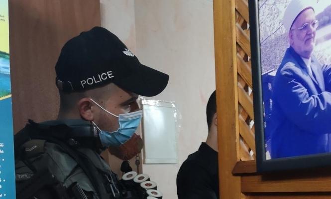 الاحتلال يقتحم منزل الشيخ صبري عشية أول خطبة له منذ أشهر