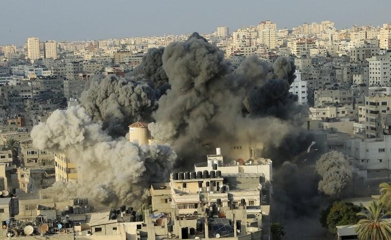 من الحروب الإسرائيلية على غزّة (أ ب)