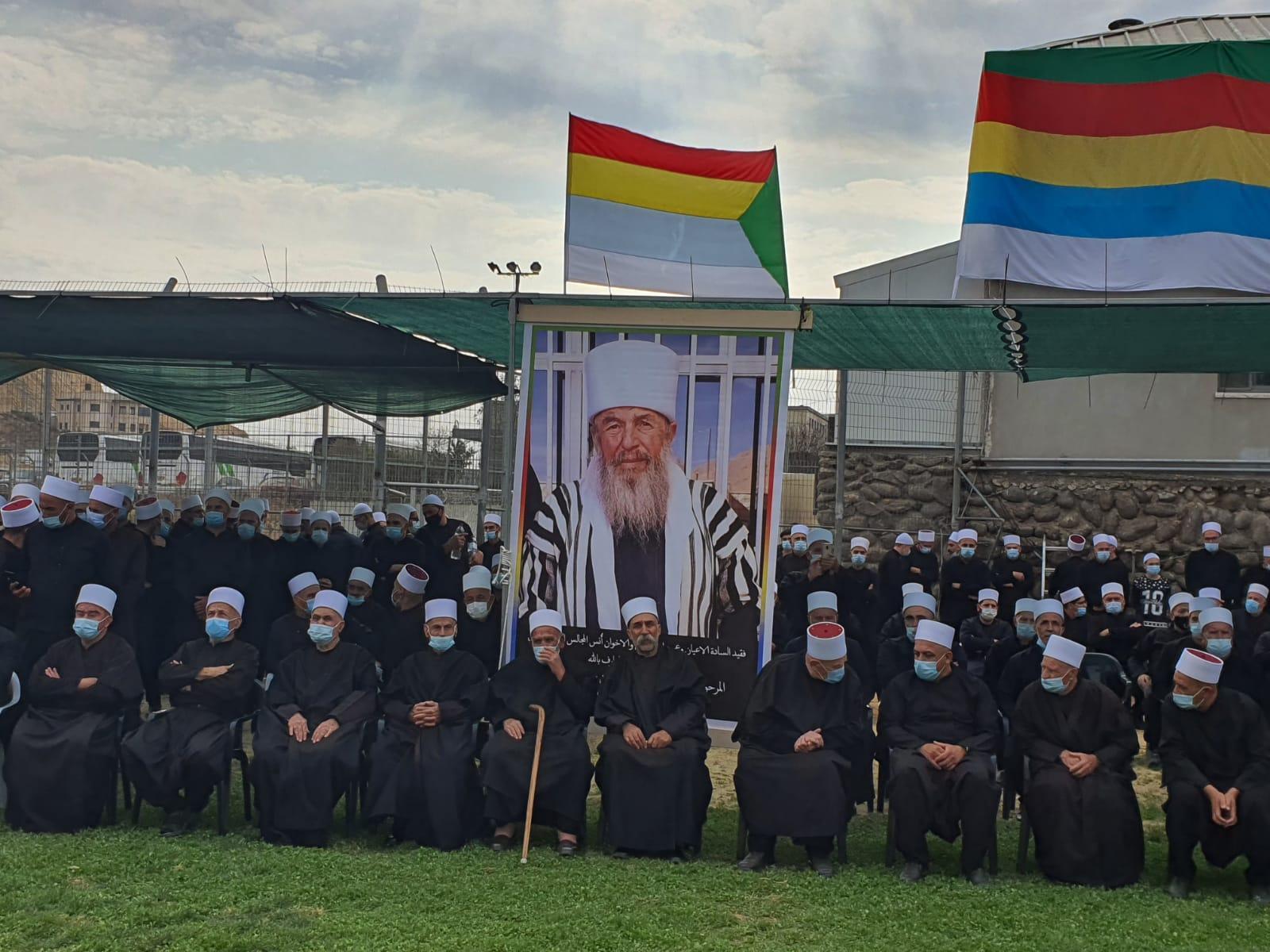 مجدل شمس: تشييع الشيخ حسن الحلبي وسط إجراءات صحية مشددة