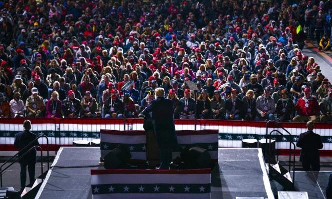 ترامب وبايدن يعقدان تجمعات انتخابية في وسط غرب الولايات المتحدة