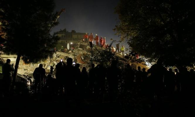 ارتفاع حصيلة زلزال تركيا واليونان إلى 37