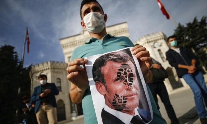 فرنسا تعيد سفيرها إلى تركيا بعد سحبه إثر أزمة الرسوم الكاريكاتوريّة