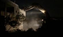 الاحتلال يهدم منزل الأسير خليل دويكات في بلدة روجيب