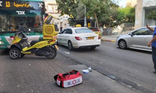 حافلة تدهس امرأة في حيفا