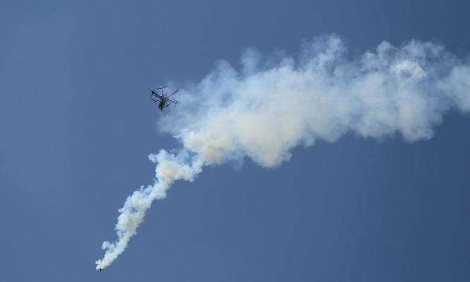 """الاحتلال يستدعي مقاتلات حربية للاشتباه بـ""""تسلل حوّامة"""" من غزة"""