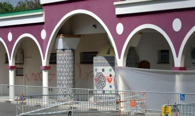 وضع رأس خنزير داخل مسجد شمالي فرنسا
