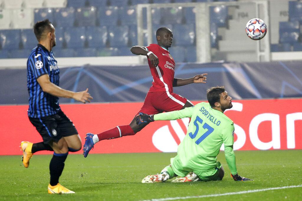 دوري الأبطال: ليفربول يدك شباك أتالانتا بخماسية