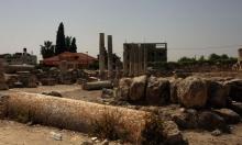 الاحتلال يقتحم سبسطية ويغلق الموقع الأثري أمام الفلسطينيين