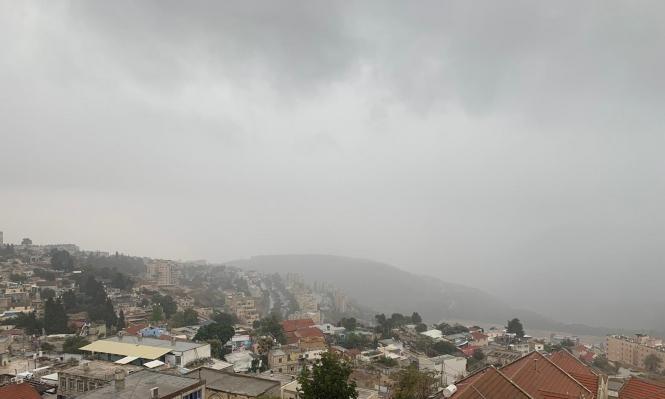 حالة الطقس: بارد وماطر رغم انحسار المنخفض الجوي