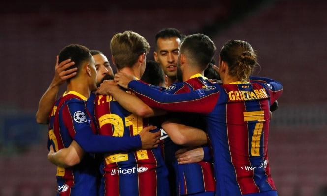 دوري الأبطال: برشلونة يتخطى دينامو كييف