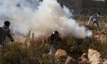 نابلس: إصابات بالاختناق إثر قمع الاحتلال مسيرة مندّدة بالاستيطان
