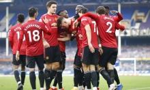 مانشستر يونايتد يهزم إيفرتون في معقله