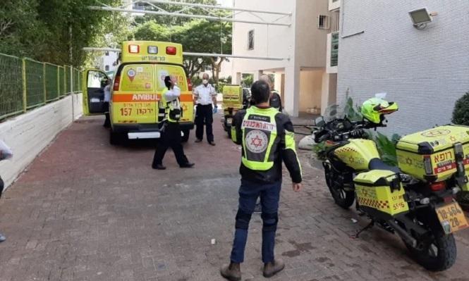 مصرع عامل إثر سقوطه في مدينة تل أبيب