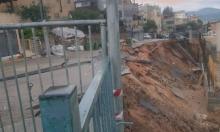 انهيار الشارع في الجش: تساؤلات ومطالبة بعقد جلسة مجلس
