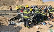 مصرع سائق سيارة في حادث طرق بالنقب