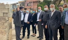 نواب المشتركة يزورون حي الشيخ جراح في القدس المحتلة