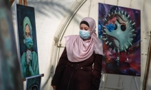 """""""كورونا والفن""""؛معرض غزّي يسلّط الضوء على الجائحة"""